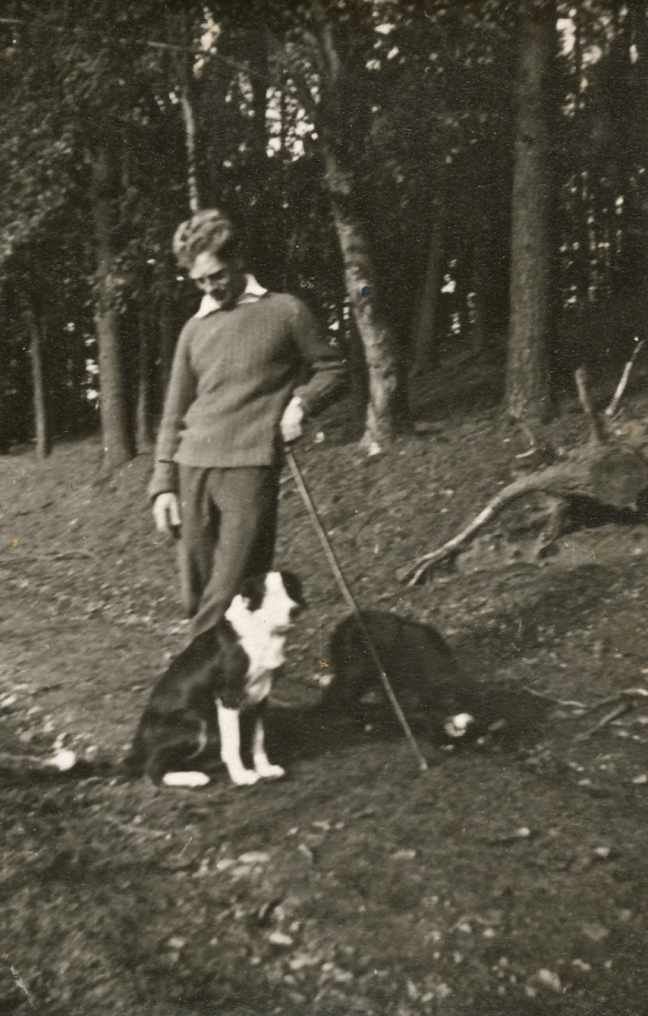 Peter with Moss and Nell