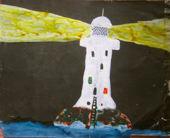 Lighthouse by Simon, circa 1965