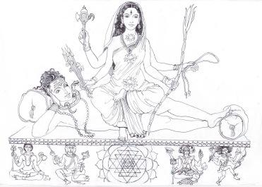 12 mahavidya tripuri sundari, chinnaiyam shakti rising