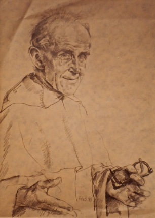 Sketch of F.Alan Cheales